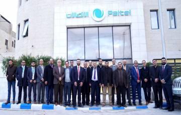 """بالصور - شركة الاتصالات الفلسطينية """"بالتل"""" تستقبل رئيس بلدية الخليل"""
