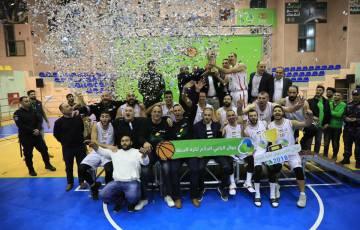 بالصور - فوز نادي ارثذوكسي بيت لحم في نهائي كأس جوال لكرة السلة