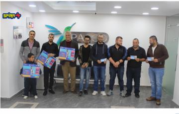 """بالكو تسلم الجوائز لفائزين حملة سبيرا """"طارد البعوض الأول في فلسطين"""""""