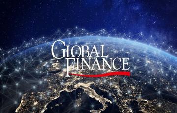 بنك فلسطين يحصل على جائزة أفضل مؤسسة مالية في مجال صرف العملات الأجنبية في فلسطين للعام 2019 من مجلة Global Finance العالمية في نيويورك