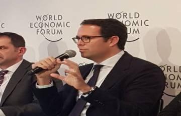 بنك فلسطين يجري في منتدى دافوس الاقتصادي العالمي مداولات مع عدد من الصناديق الاستثمارية
