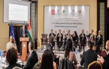 بحضور رئيس الوزراء ورجال الأعمال ,, انعقاد المنتدى الِثالث لمجلس الأعمال الفلسطيني الإيطالي المشترك