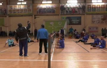 برعاية جوال افتتاح دوري جوال لكرة طائرة الجلوس