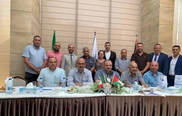غرفة تجارة وصناعة محافظة بيت لحم تستضيف القنصل الإيطالي ووفد رسمي مرافق له