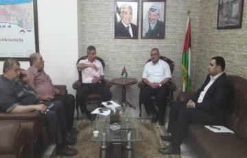 تفاهمات هامة بين اتحاد المقاولين ووزارة الأشغال بغزة