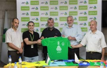 غزة.. توزيع الزي الرياضي على الفرق المتنافسة في دوري جوال لكرة الطائرة