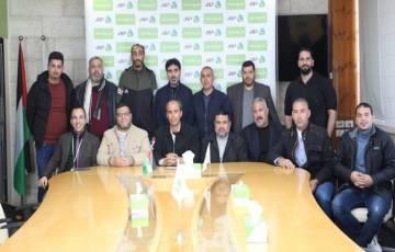 سحب قرعة دوري جوال لكرة اليد للموسم 2020/2021 في غزة