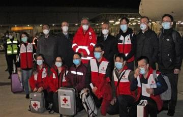 السفير الصيني: الحكومة الصينية تدرس إرسال فريق طبي إلى فلسطين