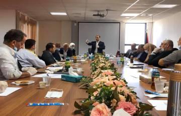 """""""عقد إجتماع موسع خاص بخطة إنعاش وحماية الصادرات الزراعية الفلسطينية"""""""