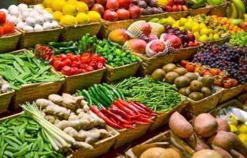 أسعار الخضروات والفواكه صباح اليوم الخميس في اسواق غزة المحلية
