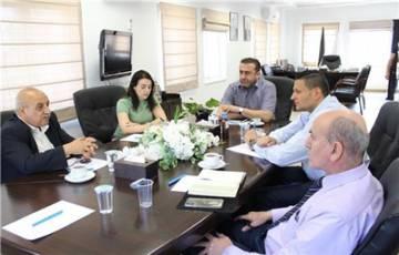 غرفة تجارة وصناعة محافظة بيت لحم تلتقي البعثة البابوية