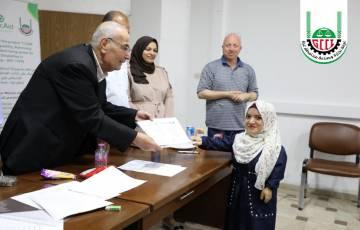 غرفة تجارة وصناعة غزة تختتم تدريب المجموعة الأولى من النساء ذوات الإعاقة