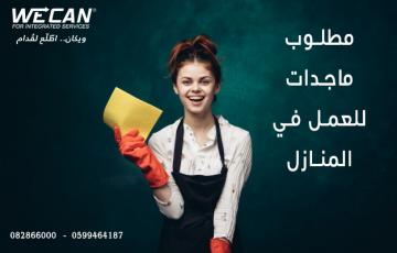 عاملات تنظيف - غزة