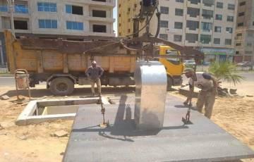"""بدء تنفيذ مشروع """"حاويات تحت الأرض"""" في غزة"""
