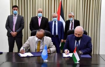 اشتية يعلن عن توقيع اتفاقية مع البنك الدولي بقيمة 30 مليون دولار