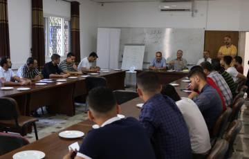 غرفة تجارة وصناعة محافظة غزة تطلق برنامجاً تدريبياً في مجال صيانة السيارات الحديثة