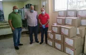 المشروبات الوطنية توزع مساعدات صندوق تكافل الموظفين لمساعدة المتضررين من الجائحة
