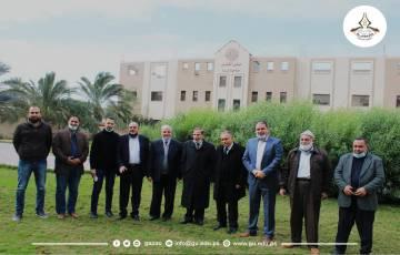غرفة تجارة خان يونس وجامعة غزة يتفقدان  الدورة التدريبية الخاصة بتركيب وصيانة أنظمة الطاقة الشمسية
