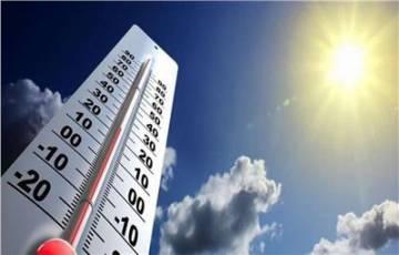 انخفاض على درجات الحرارة