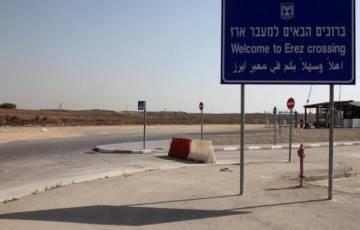 حركة تنقل القادمين والمغادرين عبر معبر بيت حانون الاثنين