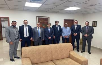 بنك فلسطين يستقبل وفداً من مجموعة طلال أبو غزالة العالمية