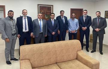 """بنك فلسطين و""""طلال أبو غزالة"""" يبحثان التعاون في مجال التحول الرقمي"""