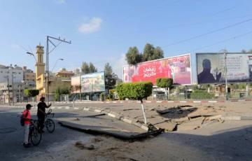 بلدية غزة: تم إبلاغنا بتأجيل مشاريع إعمار البنى التحتية